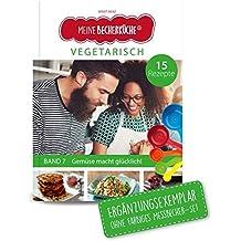"""Meine Becherküche - Vegetarisch (Band 7): ERGÄNGZUNGSEXEMPLAR (ohne 5-teiliges Messbecher-Set), mit 15 vegetarischen Rezepten, Original aus """"Die Höhle der Löwen"""" (Kinderleichte Becherküche)"""