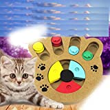 Gugutugo Die Katze Spielzeug Ratte in Einem Käfig Puzzle Maus Haustier-Spielzeug-Katze Fang die Kugel Katzenspielzeug