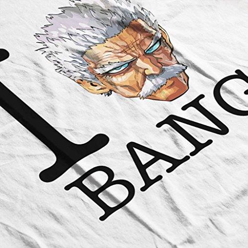 Cloud City 7 Heart Bang One Punch Man Women's Vest white