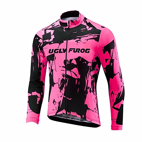 Uglyfrog Bike Wear Maillot Ciclismo Hombre Invierno