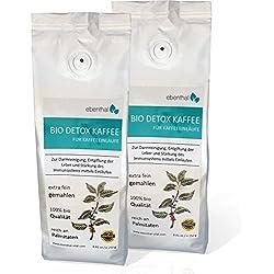 EBENTHAL ™ Bio Detox-Kaffee: Einlauf-Kaffee zur Darm-Reinigung 250 g 2er Pack