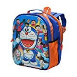 #6: Adventurer Kids School bag, Multi Colour with 7D Doremon Characters Backpack/School bag for Kids
