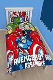 Marvel Avengers Assemble Battle Single Duvet Cover Bed Set