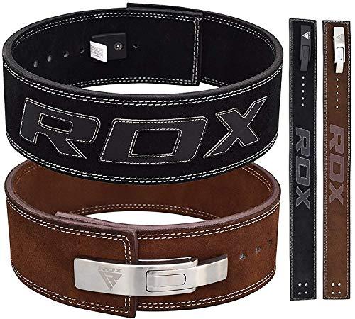 RDX Gimnasio Cinturón Cuero Peso Musculacion Entrenamiento Cinturones Pesas Levantamiento