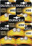 Duracell CR2032 Lithium-Knopfzelle, 3V, Schwarz