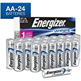 "AA Energizer Ultimate Lithium L91 1.5V 24 Batteries ""In Original Box"""