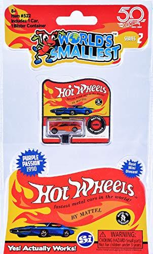 Super Impulse - Las ruedas calientes más pequeñas del mundo - Serie 2 - Un (1) Vehículo escogido al azar - El estilo puede variar, no puede garantizar contra duplicados