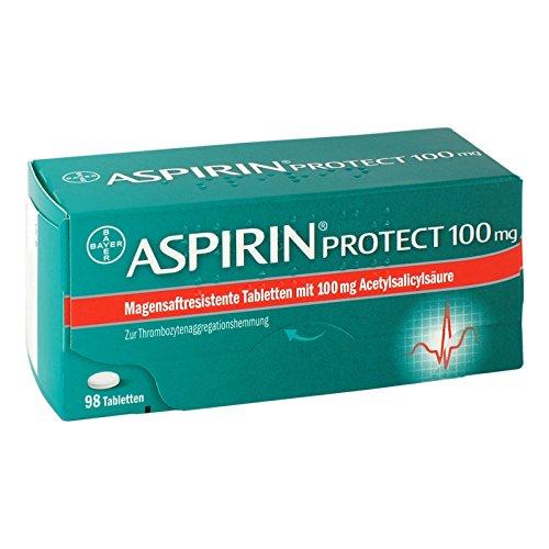 Aspirin Protect 100 mg Tabletten, 98 St. Tabletten