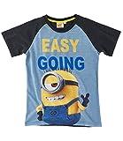 Minions Despicable Me Jungen T-Shirt - grau - 152