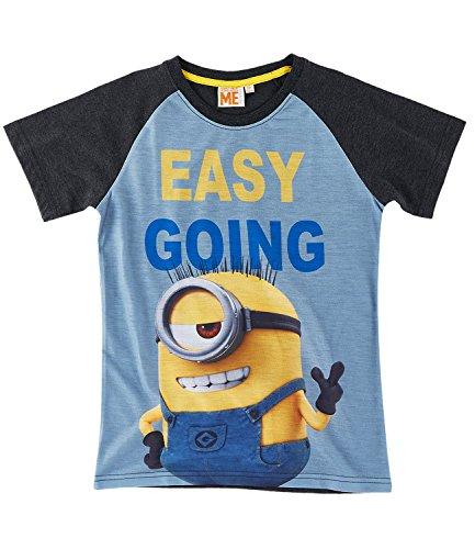 Minions Despicable Me Jungen T-Shirt - grau