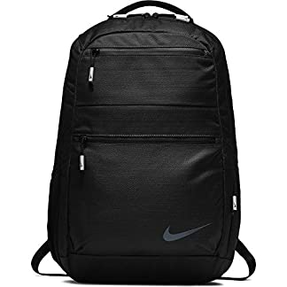 51RFHT%2BEXBL. SS324  - Nike Nk Depart Bkpk Mochila, Unisex Adultos, Negro Black, 15x24x45 cm (W x H x L)