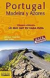 Mapa de carreteras de Portugal, Madeira y Azores 1:340.000 - (desplegable) (Mapa Touring)