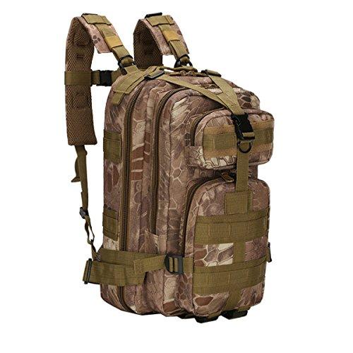 Yy.f Militärische Taktik Rucksack Angreifen 3 Tage Taschen Rucksäcke Outdoor-Reisen Jagen Camping Wandern Schießen. Multicolor D