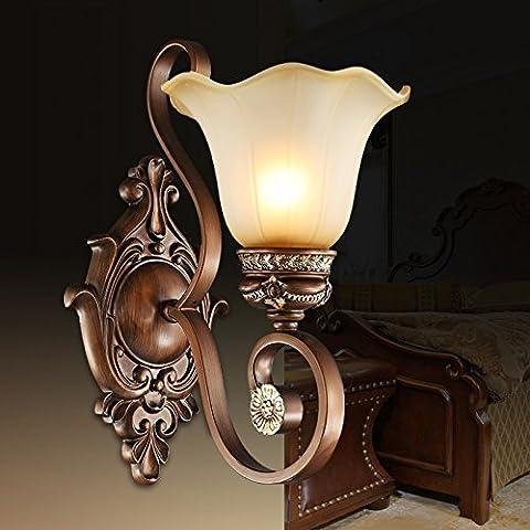 FEI&S specchio da parete lampada frontale lampada al posto letto camera da letto specchio-lampada minimalista in stile salotto lampada da parete #13B