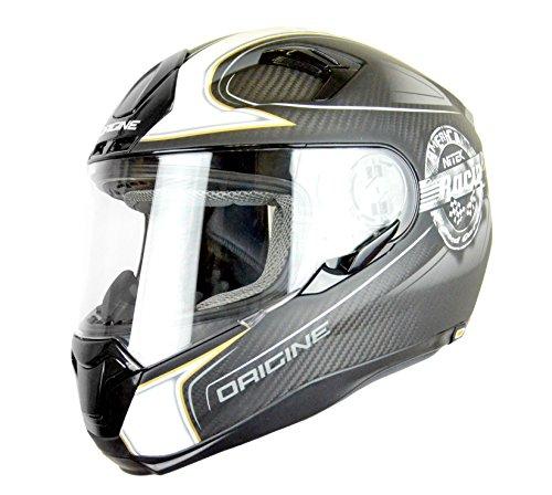 Origine Helmets - Casco para moto - Color Gris/Titanium - Talla M