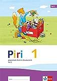 Piri Fibel / Arbeitsheft PLUS in Druckschrift: (enth. 3 Teilhefte)