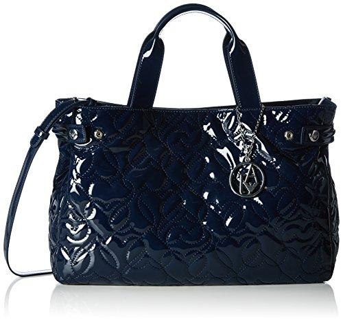 Armani Jeans9225916A752 - Borsa shopper Donna , Blu (Blau (BLU 00335)), 26x14x40 cm (B x H x T)