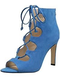 Nine West Women S Unfrgetabl Suede Dress Pump Turquoise Suede 5.5 B(M) US