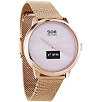 "'X de Watch 54017 ""SOENNECKEN XW Pure Mujer Hybrid Smart Watch Rose oro"