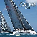 Sailing 2018: Broschürenkalender mit Ferienterminen. Sport-Segeln. Wandkalender im Format 30 x 30 cm