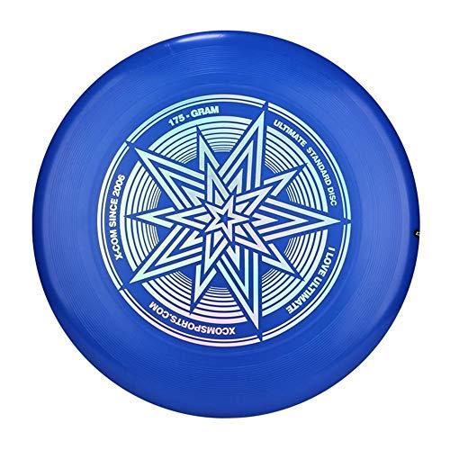 Professionelle Sportscheibe 175g, Sport Glow In The Dark Flying Disc, ändern Sie die Farbe unter ultraviolettem Licht, 10 Farben