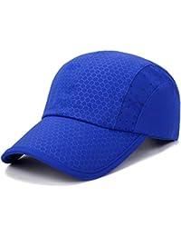 1dbe74aed87 GADIEMENSS Soft Brim Lightweight Running Hat Waterproof Breathable Quick  Dry Sport Cap Men Woman