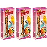 Petsutra Vitapol Fruit Smakers For Budgies With Seeds, Fruits & Berries For Protein - 270 Gms (90 Gms Each X 3 Pack)