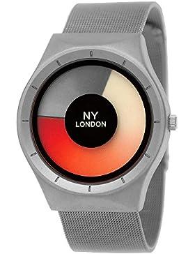 Elegante NY London Designer Damen-Uhr Herren-Uhr Future Optik Milanaise Armband-Uhr Unisex Analog Klassisch Quarz-Uhr...