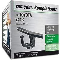 Anhängerkupplung starr Für Toyota YARIS VERSO 1999-2006+E-SATZ 7-pol