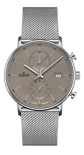 Junghans Herrenuhr Chronoscope Form C 041/4878.44