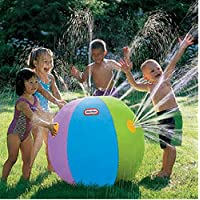 PENVEAT Inflatable Outdoor Beach water ball Lawn play ball Bath Swim Toy Beach Toy Bath Toys Kids Toys for Children