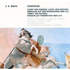 T�net, ihr Pauken! Erschallet Trompeten!, BWV 214: No.1, T�net, ihr Pauken! Erschallet Trompeten