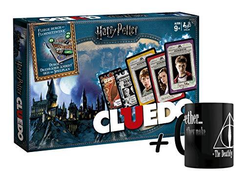 Winning Moves Cluedo - die Welt von Harry Potter Sonderedition mit magischen Extras! Der Spieleklassiker (Karte Potter Mit Zauberstab Harry)