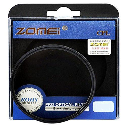 Zomei CPL Zirkular Polfilter Polarisationsfilter Kamera Filter AGC Optisches Glas für Canon Nikon...