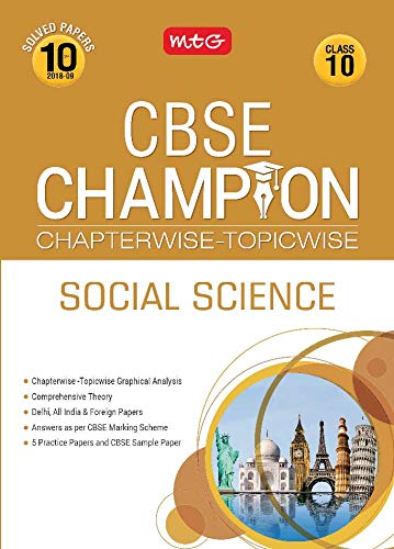 10 Years CBSE Champion Chapterwise-Topicwise Social Science - Class 10