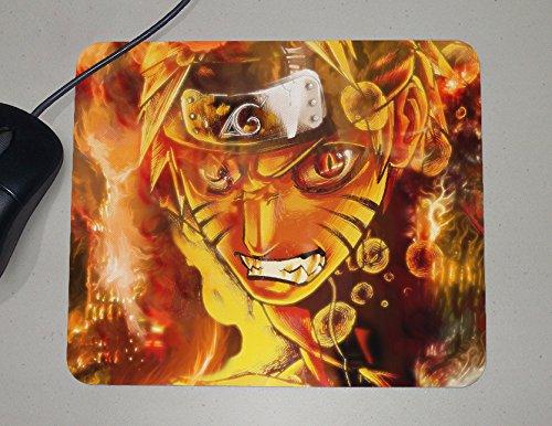 Naruto Shippuden - Nine Tails Fox - Kurama - Japanese Anime - Novelty Gift - Custom Name Mouse Pad