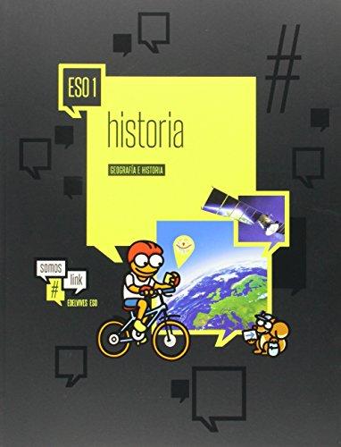 Geografía Historia 1º ESO Somoslink - 9788426398833