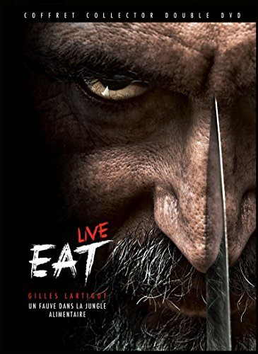 EAT LIVE - Un Fauve dans La Jungle Alimentaire - COFFRET COLLECTOR DOUBLE DVD
