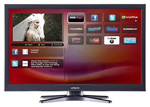 Hitachi 24HXJ15U HD Ready LED DVD Combi Smart TV