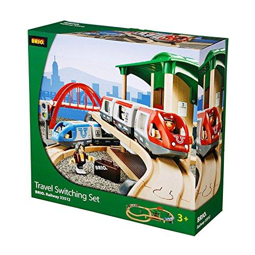 Brio 33512 - Set Ferrovia con Scambio