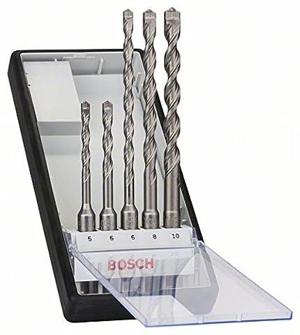 Bosch 2608585073 5/6/6/8/10 mm SDS Plus-7 Drill Bits Set