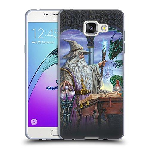 Offizielle Ed Beard Jr Botschafter Drachen Von Dem Zauberer Fantasie Soft Gel Hülle für Samsung Galaxy A5 (2016)