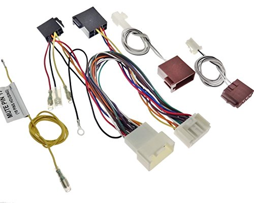 Câble adaptateur iSO pour parrot mitsubishi, peugeot, citroën