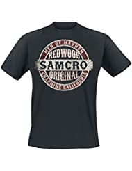 Sons Of Anarchy Samcro Original Camiseta Negro