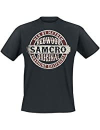 Sons Of Anarchy Samcro Original T-shirt noir
