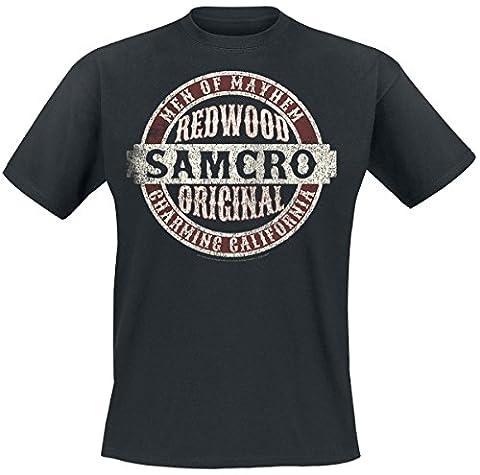 Sons Of Anarchy Samcro Original T-Shirt schwarz XXL