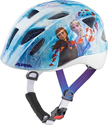 Alpina Mädchen XIMO DISNEY Fahrradhelm, Frozen 2, 49-54 cm