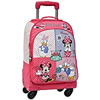 Disney Minnie & Daisy Spinner Travel Luggage Convertible to Backpack