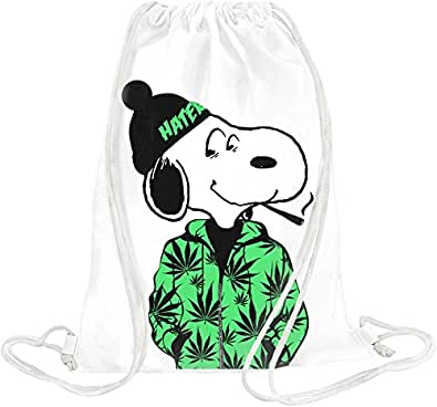 Rastaman Dog Drawstring bag