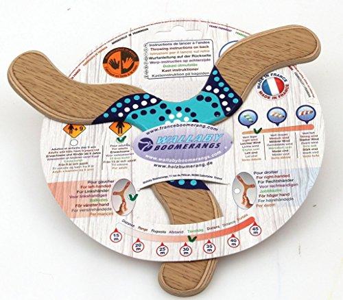 Wallaby Wanguri - handgemachter Bumerang aus Sperrholz, sehr schnell und anspruchsvoll